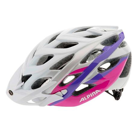 Купить Летний шлем Alpina MTB D-Alto white-silver-pink, Шлемы велосипедные, 1179901