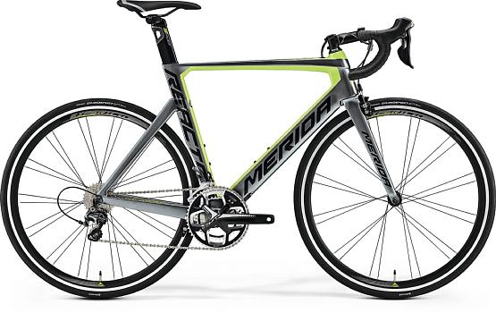 Купить Велосипед MERIDA Reacto 5000 2017 Anthracite/Green - Black, Шоссейные, 1331256