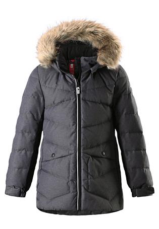 Купить Куртка горнолыжная Reima 2017-18 Leena Dark melange grey Детская одежда 1351748