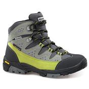 Ботинки для треккинга (высокие)Треккинговая обувь<br>Уровень качества по системе Dolomite Anatomic System -  ADVANCED (DAS 2)-сложная система  анатомичной облегающей колодки +специальной анатомичной стельки и подошвы Vibram. Верх:  обработанная водоотталкивающей пропиткой, дышащая замша толщиной 1,6/1,8 мм + нейлоновая ткань, металлическая фурнитура для шнуровки.  Подкладка : водонепроницаемая мембрана Tecnidry . Стелька: фетр толщиной 2 мм. Подошва:  Vibram ® rubber sole .<br>Вес 1/2: 250 г.Защита от влаги: Tecnidry-водонепроницаемая мембранаНазначение: ХайкингРазмер: 27-40Полнота: ДетскиеКрой: Высокий<br><br>Пол: Унисекс<br>Возраст: Детский