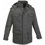 Куртка для активного отдыха Salewa ALPINE LIFE MEN CASTELFEDER PTX/PRL M JKT black/brown melange/7910