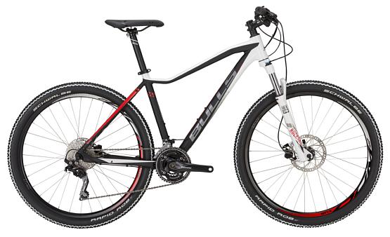 Купить Велосипед Bulls Jinga 27,5 2017 Черно-белый Горные спортивные 1339336