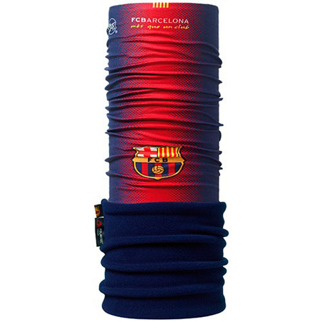 Бандана BUFF LICENSES F.C. BARCELONA POLAR BUFF 1ST EQUIPMENT NEW DESIGN\NAVY POLARTEC