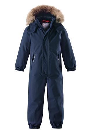Купить Комбинезон горнолыжный Reima 2017-18 Stavanger Navy Детская одежда 1351641