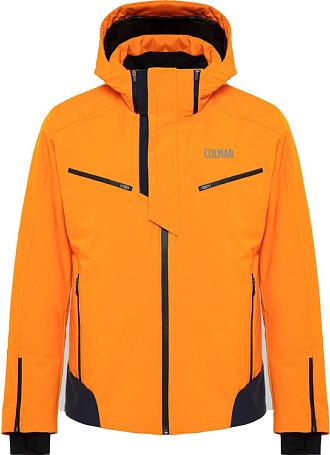 Куртка горнолыжная COLMAR 2019-20 Schuss Orange pop - купить, цена 38773 руб, отзывы на КАНТе