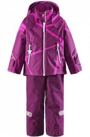 Купить Комплект горнолыжный Reima 2016-17 KIDDO KIDE СВЕКОЛЬНЫЙ Детская одежда 1286654