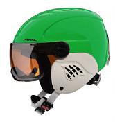 Зимний ШлемШлемы для горных лыж/сноубордов<br>Дети считают, что главное это внешний вид, а у родителей в приоритете защита. Эта модель идеально удовлетворяет требованиям обоих поколений. <br>Модель с матовым покрытием.<br> <br>Особенности:<br><br>- Inmold Tec – технология соединения внутренней и внешней части шлема при помощи высокой температуры. Данный метод делает соединение исключительно прочным, а сам шлем легким. Такой метод соединения гораздо надежнее и безопаснее обычного склеивания.<br>- Ceramic – особая технология производства внешней оболочки шлема. Используются легковесные материалы экстремально прочные и устойчивые к царапинам. Возможно использование при сильном УФ изучении, так же поверхность имеет антистатическое покрытие.<br>- Run System – простая система настройки шлема, позволяющая добиться надежной фиксации.<br>- Changeable Interior – съемная внутренняя часть. Допускается стирка в теплой мыльной воде.<br>- Neckwarmer – дополнительное утепление шеи. Изготовлено из мягкого флиса.<br>- Venting System – особые вентиляционные отверстия для отведения излишнего тепла и поддержания оптимальной температуры.<br>- Jet Vision – интегрированная в шлем поворотная линза.