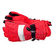 Перчатки горные GLANCE Element (red/white) красный/белый