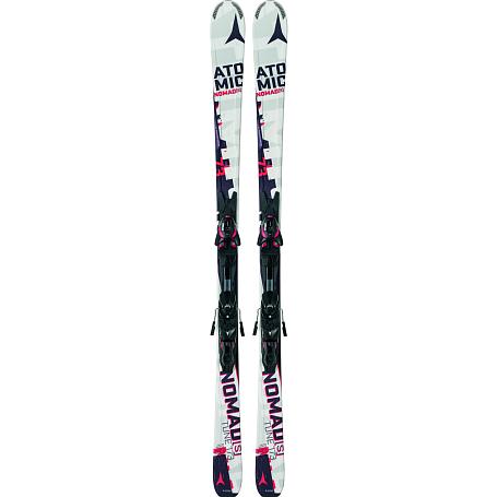 Купить Горные лыжи с креплениями ATOMIC 2014-15 NOMADs TUNE & XTO 10 White/Red, лыжи, 1140109