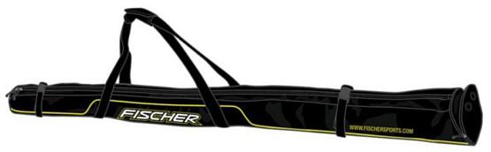 Купить Чехол для беговых лыж FISCHER 2017-18 XC 195/210см 1 пары Черный, Чехлы лыж, 1365809