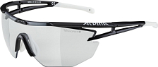 Очки солнцезащитные Alpina 2020 Eye-5 Shield VL+ Black Matt White/Black