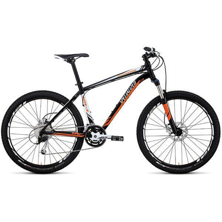 Велосипед SPECIALIZED ROCKHOPPER BLK/ORG/WHT