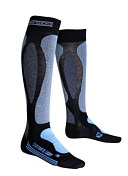 Носки X-bionic 2016-17 X-socks Ski Carving Ultra Light Lady B112 / Черный