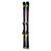 Горные Лыжи с Креплениями Fischer 2016-17 Rc4 The Curv Dtx Racetrack+rc4 Z12 Powerrail Solid Black/yellow 85 [F]