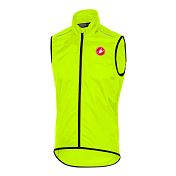 Веложилет Castelli 2017 Squadra Long Vest Yellow Fluo