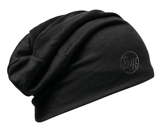 Купить Шапка BUFF WOOL SOLID CHSOLID CHIC BLACK Банданы и шарфы Buff ® 1169267