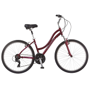 Велосипед Schwinn Suburban Deluxe Women 2019 Red