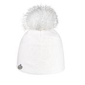 ШапкаГоловные уборы<br>ЭЭлегантная шапка с помпоном из натурального меха &amp;#40;лиса&amp;#41; для городских условий, с комфортной подкладкой из пряжи.<br>Состав: натуральный мех, акрил<br>Цвет: белый<br><br>Пол: Унисекс<br>Возраст: Взрослый<br>Вид: шапка