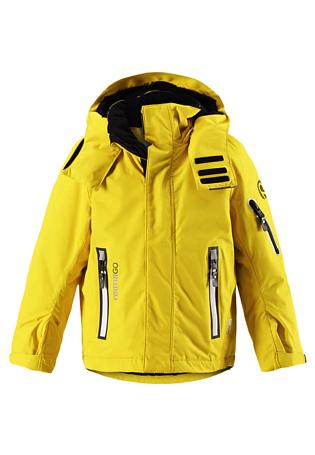 Купить Куртка горнолыжная Reima 2017-18 Regor Yellow, Детская одежда, 1351663