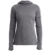 Толстовка беговая Saucony 2019-20 RUNSTRONG HOODIE Dark Grey Heather