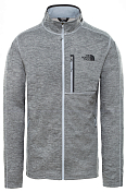 Флис горнолыжный The North Face 2020-21 Canyon lands full zip Tnf dark grey heather