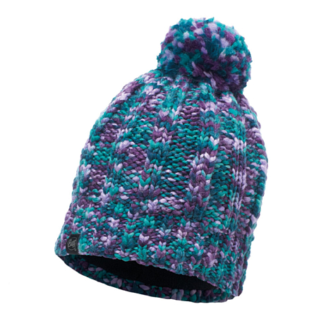 Шапка BUFF KNITTED & POLAR HAT LIVY TURQUOISE