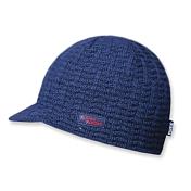 ШапкаГоловные уборы<br>Однотонная шапка с козырьком. Состав: 45% шерсть, 55% акрил.