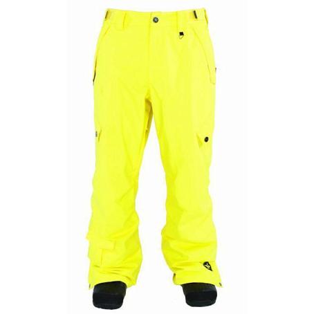 Купить Брюки сноубордические SESSIONS 2011-12 Achilles Pant 01Y Yellow Одежда сноубордическая 745004