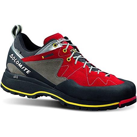 Купить Ботинки для треккинга (низкие) Dolomite 2017-18 Steinbock Low Gtx Red/Silver, Треккинговая обувь, 1188251