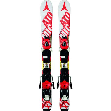 Купить Горные лыжи с креплениями ATOMIC 2014-15 Junior&Kids REDSTER JR I & XTE 045 WHITE/Red 1140242