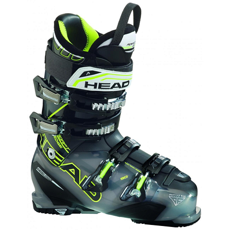 Горнолыжные ботинки HEAD 2014-15 Performance ADAPT EDGE 90 Tspr Antracite/Black-Yellow