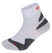 НоскиНоски<br>Практичная полипропилен-карбоновая ступня обеспечивает хорошую поддержку во время быстрых движений. <br>Носки отлично подходят для обуви с высоким голенищем.<br>Общие характеристики: <br>Вес: 0.066 кг<br>Цвет: Серый<br>Назначение: треккинг<br>Противогрибковая пропитка: есть<br><br><br>Пол: Унисекс<br>Возраст: Взрослый<br>Назначение: outdoor