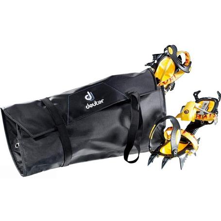 Купить Чехол для альпинистских кошек Deuter Accessories Crampon Bag black, Кошки альпинистские, 1072962