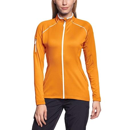 Купить Жакет туристический Salewa MOUNTAINEERING ALPINDONNA BOW PL W JKT marigold/0710 Одежда туристическая 1023934