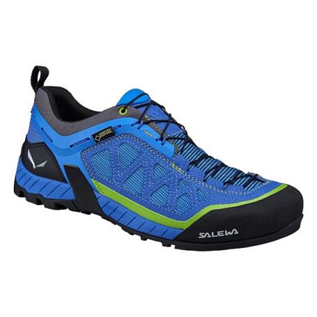 Купить Ботинки для треккинга (низкие) Salewa 2017 MS FIRETAIL 3 GTX Royal Blue/Monster Треккинговая обувь 1330018