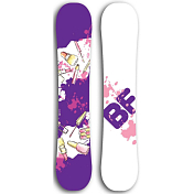 Сноуборд BF snowboards Special Lady 2017-18 lipstick
