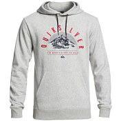 Флис сноубордический Quiksilver 2018-19 BIG LOGO SNOW M GREY HEATHER