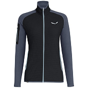 Жакет для активного отдыха Salewa 2018-19 Puez Plose 4 Polarlite Full-Zip Women's Black Out