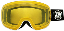 Очки горнолыжные Carve Scope Matt White/Yellow Photochromic