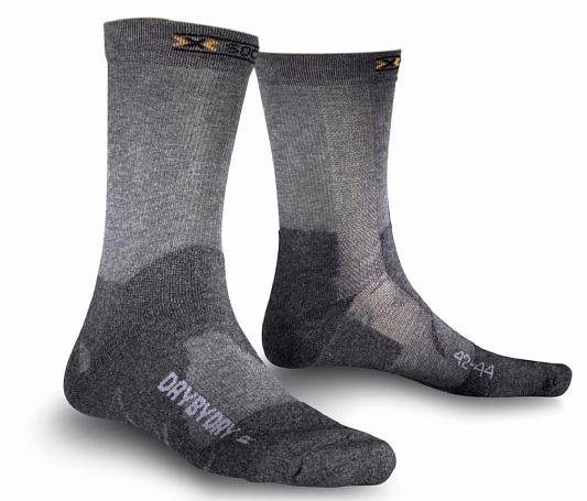 Купить Носки X-Bionic 2016-17 X-SOCKS DAY BY G000 / Серый, Носки, 1277629