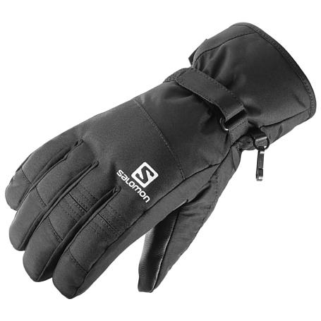 Купить Перчатки горные SALOMON 2016-17 GLOVES FORCE GTX M BLACK Перчатки, варежки 1289502