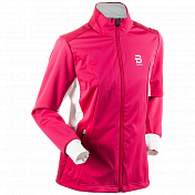 Куртка беговая Bjorn Daehlie 2017-18 Jacket Trysil Wmn Bright Rose
