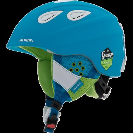 Купить Зимний Шлем Alpina 2015-16 ALL MOUNTAIN GRAP 2.0 blue matt Шлемы для горных лыж/сноубордов 1193955