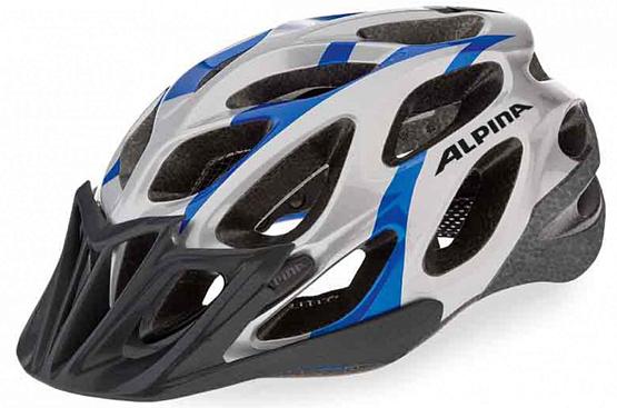 Купить Летний шлем Alpina SMU SOMO THUNDER blue-silver, Шлемы велосипедные, 1180203