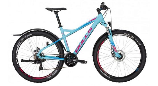 Купить Велосипед Bulls Nandi Street 27,5 2017 Голубой Горные спортивные 1339347