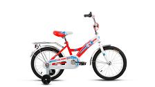 Велосипед Altair City Boy 16 2017 Белый/красный