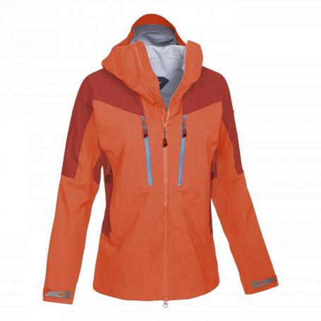 Купить Куртка туристическая Salewa 2015 MOUNTAINEERING ALPINDONNA ZEBRU GTX W JKT tigerlily/1730/8240 /, Одежда туристическая, 1165254
