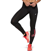Брюки беговые Asics 2019-20 Silver Icon Tight Performance Black/Laser Pink
