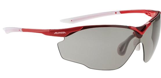 Купить Очки солнцезащитные Alpina SPLINTER SHIELD VL red-white 1131710