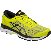 Беговые кроссовки элит Asics 2018 Gel-Kayano 24 Sulphur Spring/Black/White